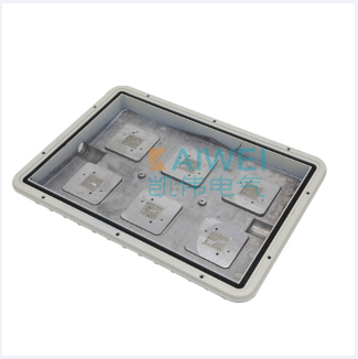 Explosion proof cabinet door
